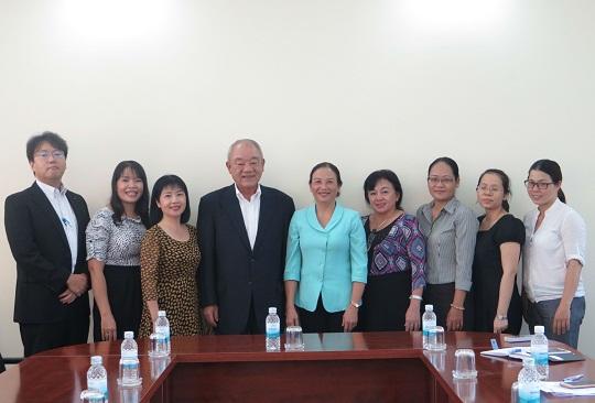Lãnh đạo Công ty cổ phần Acecook Việt Nam thăm và làm việc với  Ban Quản lý An toàn thực phẩm thành phố Hồ Chí Minh