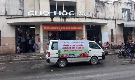"""Huyện Hóc Môn Hưởng ứng """"Tháng hành động vì an toàn thực phẩm"""" năm 2021"""